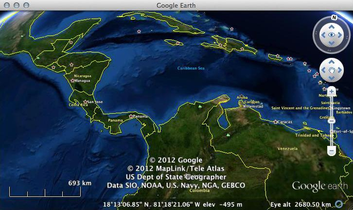 World Maps in Google Earth – Maps in Google Earth