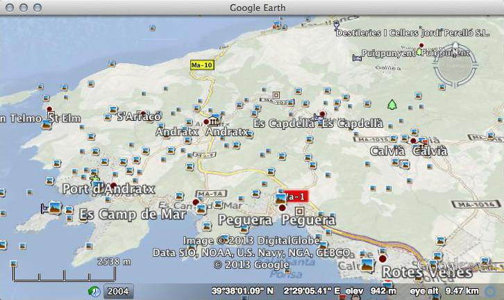 Nokia Here Maps in Google Earth – Maps in Google Earth