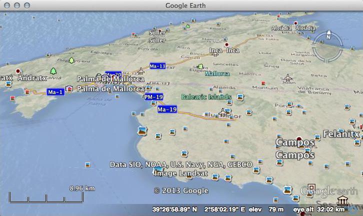 Nokia Here Terrain In Google Earth - Earth terrain map