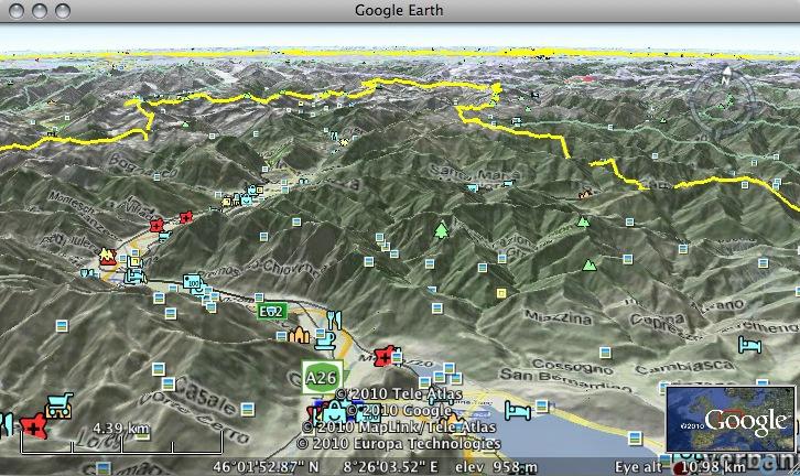 Google Maps Terrain In Google Earth