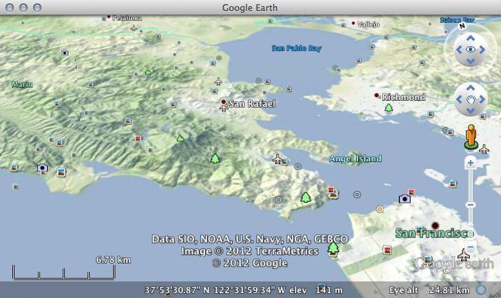 Osm Terrain Us In Google Earth - Map-of-us-terrain